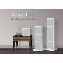 AO-iAdapt-LARGE Air Purifier|UV-HEPA- AHPCO® -WiFi USA |LifeTime Warranty| Cleans Viruses to 80m2