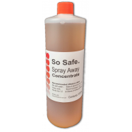 Spray Away Bacteria & Mould Killer Concentrate NEW 1000ml *Makes up 8 more Bottles* Great Value!