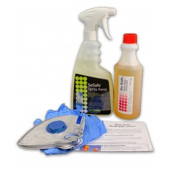 Bacteria & Mould Killer Spray Kit1 Non Toxic Includes Mask+Gloves- SAVE $8.55!