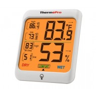 Meter Thermo Pro Backlit Large Digit- Temperature/Humidity meter