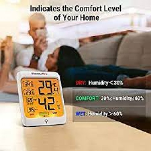 Meter Thermo Pro with Touch Backlight - Temperature/Humidity meter