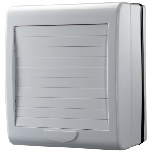 Exhaust fan 150mm suits windows. Auto shutter