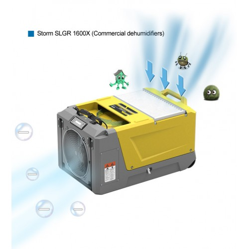ALR-SLGR1600X Commercial 130L/day NEW WiFi Enabled! Dehumidifier *IN STOCK *